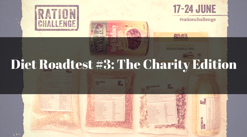 The Act for Peace Ration Challenge